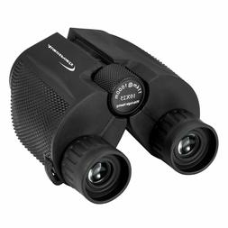 Aurosports 10x25 Folding High Powered Binoculars Weak Light