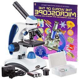 "AmScope ""Awarded 2018 Best Students and Kids Microscope Kit"""