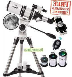 Gskyer AZ80400 Telescope, 80mm AZ Space Astronomical Refract