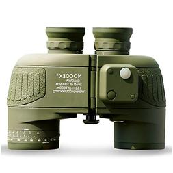 NOCOEX 10X50 Battalion Adults Compact Binoculars with Intern