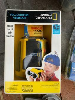 National Geographic Binocular Cam Vintage Camera New