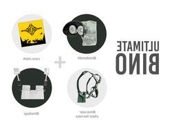 Binocular Harness Bundle 4pc combo lens cloth vortex swarovs
