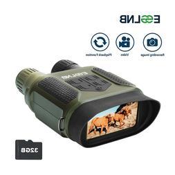 "Binocular Night Vision 7X31 IR Camera Video W/ 2"" LCD Huntin"