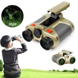 Binocular Telescope Night Vision Children Toy W/ Light Outdo