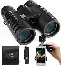 HD Binoculars for Adults, Compact for Bird Watching Stargazi