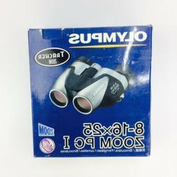 Olympus binoculars 8-16X25 ZOOM PCI UV protection free shipp