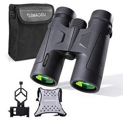 USCAMEL 10x42 Binoculars Adults, Compact HD Professional Bin