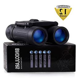 Binoculars with 10x25 Portable High Definition and Blue Film