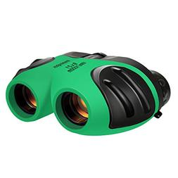 Binoculars 8 x 21 Compact for Kids Toys Gift Birding Wide Fi
