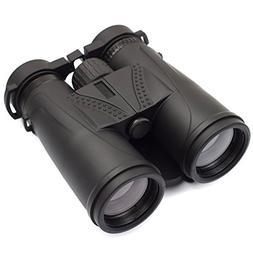 Feyachi 10x42 Binoculars Compact Bak4 Prism for Hunting,Trav
