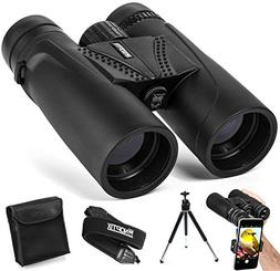 Binoculars 10x42 | Compact and Lightweight | Best for Adults