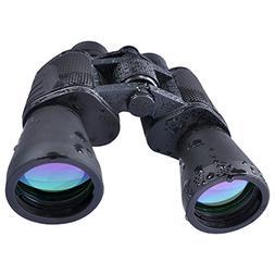 USCAMEL 10x50 HD Binoculars for Adults Compact Powerful Bak4