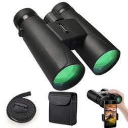 Binoculars for Adults, 12X42 HD Compact Durable Folding Wate