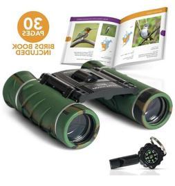 Binoculars For Kids 8X21 Compact Camouflage Kids Binoculars