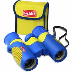 Kidzlane Binoculars For Kids - 8x21 - For Bird Watching, wit