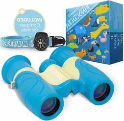 Binoculars for Kids High Resolution 8x21 - Real Optics Compa
