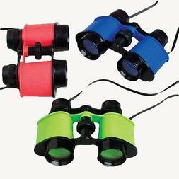 Binoculars, Assorted Colors, 12 count