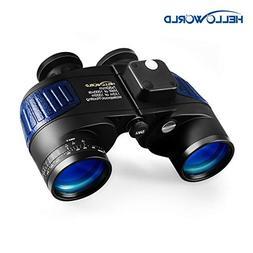 World Optical Binoculars 7X50 Marine Binoculars with Night V