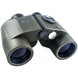 ReHaffe Military Marine Binoculars 7x50 Waterproof with Rang