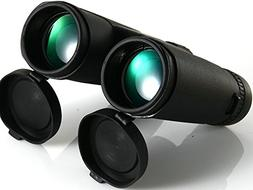GuangYing HD 10x42 Binoculars Powerful Professional Compact