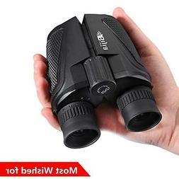 Binoculars Travel Bird Watching Hunting Hiking 12x25 Compact