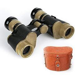 Binoculars, Tsumbay 6X24 HD Military Binoculars Telescope Wi