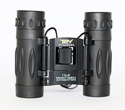 Black Binoculars 8x21 YST PRODUCTS - kids binoculars for bir