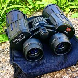 Perrini Black High Definition 60x50 Binocular With Carrying