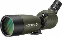 Barska 20-60x60 Blackhawk Spotting Scope, Angled, Porro Pris