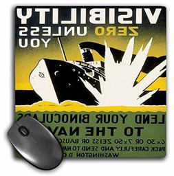 3dRose BLN Vintage WPA Posters Collection - Lend Your Binocu