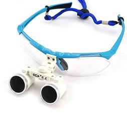 Carejoy Blue 3.5X420mm Dentist Dental Surgical Binocular Lou