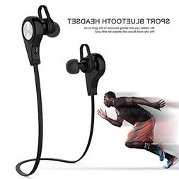 Bluetooth Headphones V4.1 Sweatproof Sport Wireless Lightwei