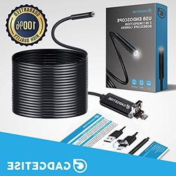 USB 3 in 1 Endoscope, Gadgetise Borescope, USB Inspection Ca