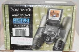 **BRAND NEW** Barska Binocular Camera 8X32 Digital Video 5.0