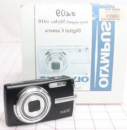 Brand New Olympus Stylus 1010  Digital Camera -Black *1-3 Da