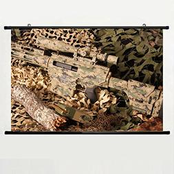 Bushmaster Ba50 Sniper Rifle Carbine Scope Ammunition Camo W