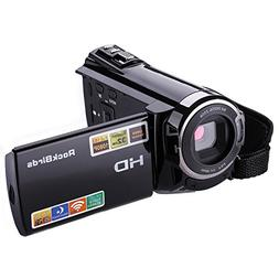 Camcorders, RockBirds HDV-5052STR Digital Video Camera HDMI