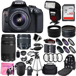 Canon EOS Rebel T6 DSLR Camera + Canon EF-S 18-55mm + Canon