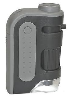 Carson MM-300 MicroBrite Plus LED Lighted Pocket Microscope: