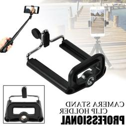 Cell Phone Tripod Adapter Holder Universal Smartphone Mount