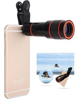 Cellphone Camera Lens, 12X Telephoto Lens, High Definition 1
