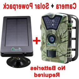 Combo Trail Camera withy Solar PowerPack Combo 12MP HD1080 V