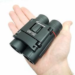 compact 30x60 folding binoculars only 6 oz