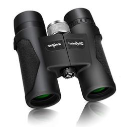 Compact 8 x 32 Binoculars Bird Watching Outdoor Travel Foldi
