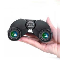 Compact Binoculars - 10x25 Waterproof Binocular High Powered