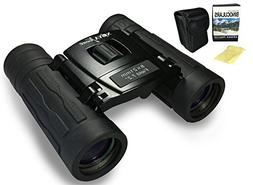 Binoculars for Kids and Adults - Compact 8x21 for Hunting, B