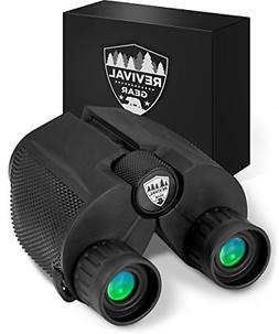 Compact Binoculars : Best 12X25 Mini Binocular With Zoom Len