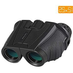 APEMAN 12X25 Compact Binoculars for Adults and Kids Folding