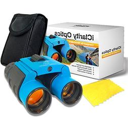Compact Binoculars Set for Kids and Adults 8x21 with Case, S