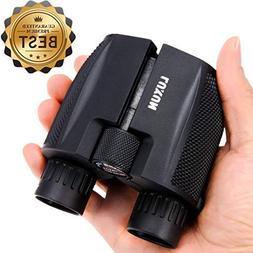 Compact Binoculars 10x25 - SGODDE Waterproof Binocular Weak